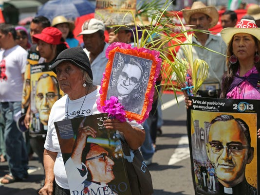 AP EL SALVADOR REMEMBERING ROMERO I SLV