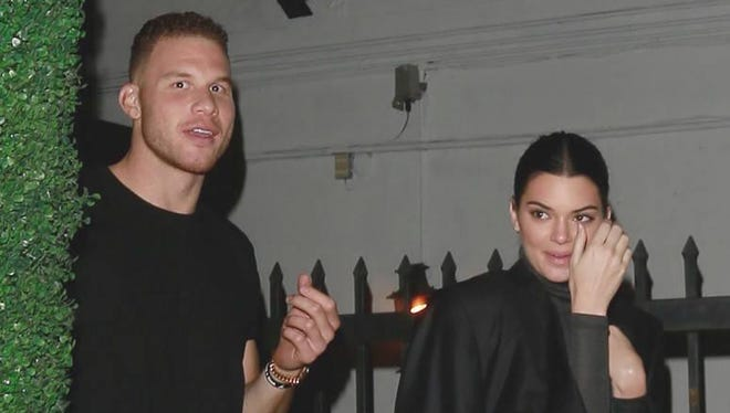 Blake Griffin and Kendall Jenner were spotted together in Hollywood, California, in December.