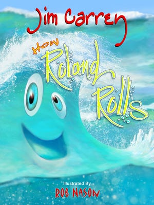 The cover of 'How Roland Rolls.
