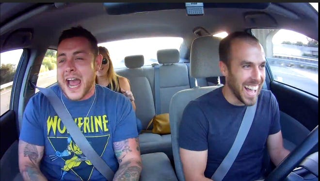 Philly Uber driver Eddie Doyle challenges his passengers to sing along to songs in his car, then posts the interactions on  YouTube.