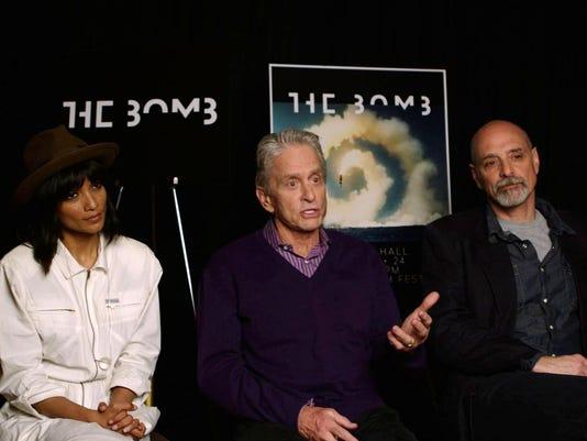 2016 Tribeca Film Festival _The Bomb_ Michael Douglas