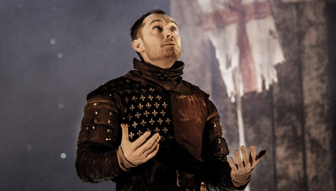 Jude Law plays the self-effacing Henry V.