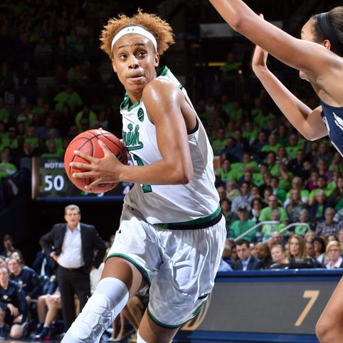 Notre Dame's Turner to miss rest of tournament
