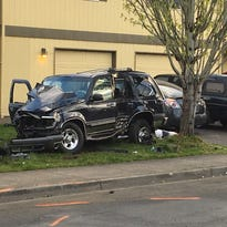 Salem teen charged with hit and run after crash sends two people to hospital