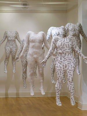 "Jin Powell, ""See Me, Hear Me, I Am Human,"" at Askew Nixon Ferguson Architects."