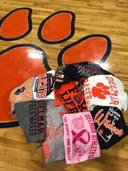 The Delmar Field Hockey team sent shirts to the victims of Hurricane Harvey.