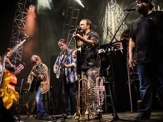 Dave Matthews Band will play Sept. 9 at Harvey's Resort