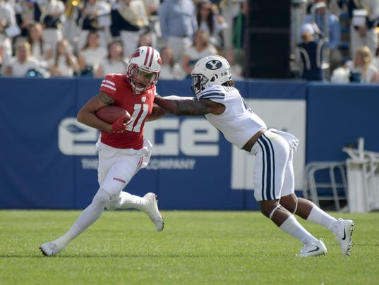 NCAA Football: Wisconsin at Brigham Young