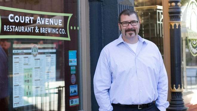 Court Avenue Restaurant and Brewing Co. owner Scott Carlson is opening a new restaurant in West Des Moines.