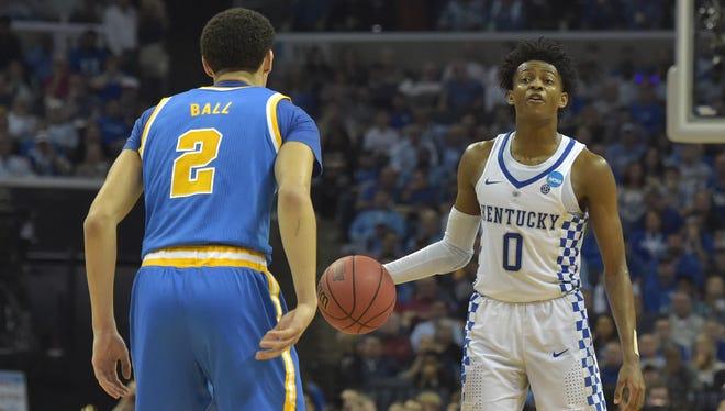 Could the Suns draft Kentucky Wildcats guard De'Aaron Fox?