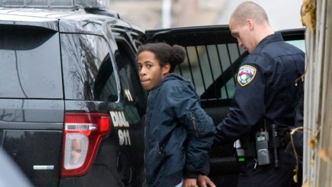 York City Police arrested 19-year-old Jahsan Wilson on Jan. 2, 2017, while officers were in the area investigating the shooting of a 14-year-old city youth. Police stopped the vehicle Wilson was in because it was reported stolen. Wilson ran but was later found hiding in a garage, police said. (Bill Kalina photo)