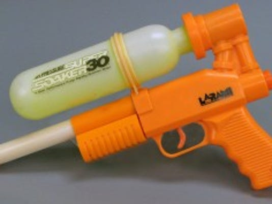 Super Soaker 30, water toy, Courtesy of The Strong, Rochester, New York