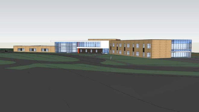 Design work is underway for the Iowa City Community School District's new Hoover Elementary.