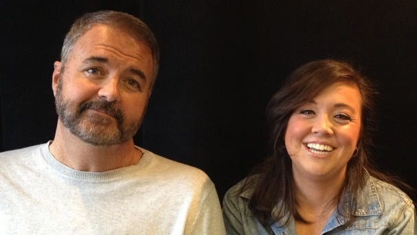 """Chick McGee and Jessica Hooker are heard on the """"Off the Air Podcast with Chick McGee."""""""