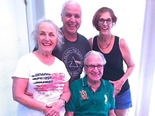Beverly Banta, Henry DesRosiers and Joanne Tumey with