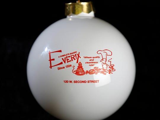 Everix Bakeries ornament (back).