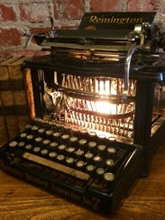 This 1896 Remington 7 Upstroke typewriter is one example