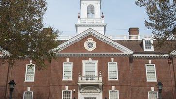 Legislative Hall in Dover.