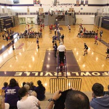 Fowlerville's volleyball team opened its season by hosting a tournament Thursday.