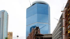 The Fontainebleau Las Vegas casino resort project in