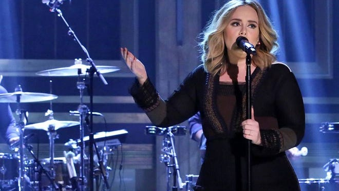 Adele: No 'Hello' for New Jersey