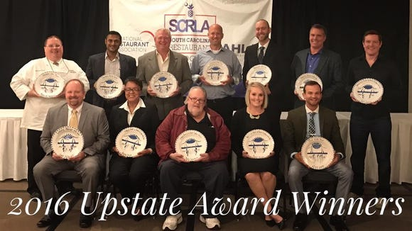 The winners of the 4th annual Upstate Hospitality Awards.