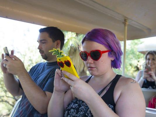Pokemon Go at the Phoenix Zoo