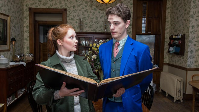 """Lily Waldron and William Champion star in the Ithaca College production of """"Arcadia."""""""