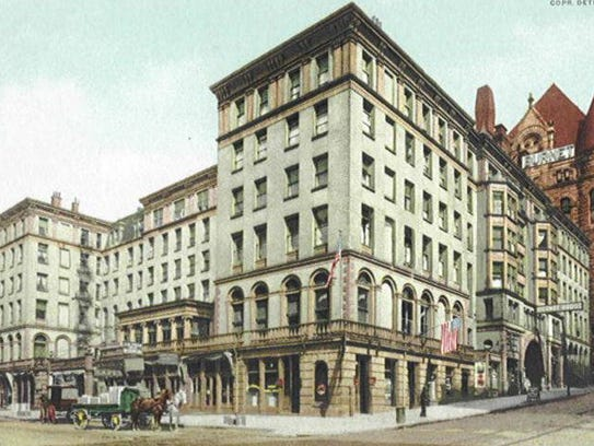 The Burnet House was remodeled in 1885, without the