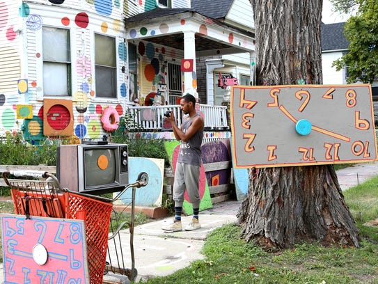 The Heidelberg Project, an installation on Detroit's
