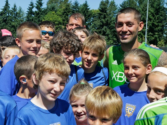 MLS Sounders Dempsey Soccer
