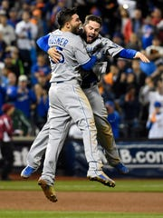 The Royals won the World Series in 2015.