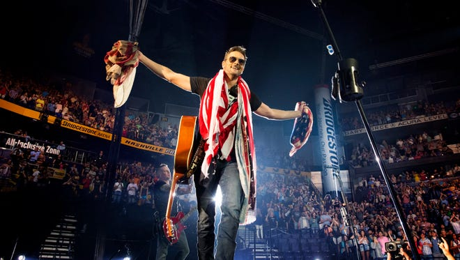 Eric Church closed his tour with two sold-out shows at Bridgestone Arena.