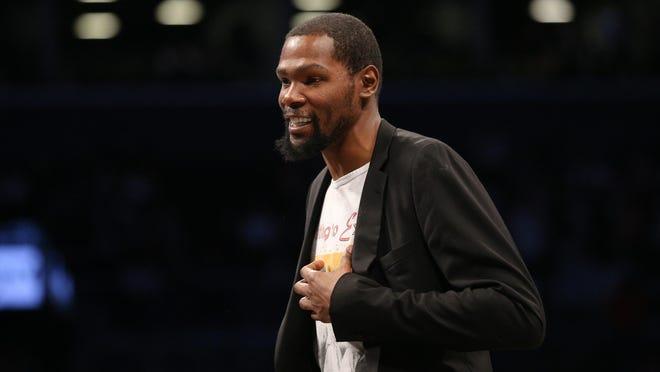 Brooklyn Nets small forward Kevin Durant has tested positive for the coronavirus.