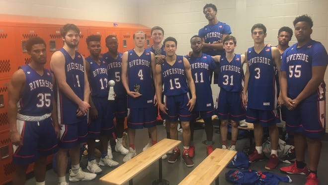 Riverside defeated J.L. Mann in the final Saturday night to win the championship of the McDonald's Shootout at Hart County (Ga.) High School.