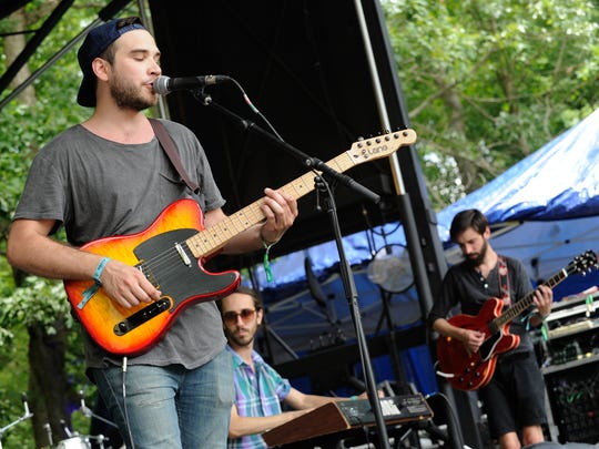 Newark pop/rock band Fiance performs at the Firefly Music Festival in Dover last year.