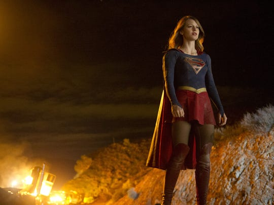 "Melissa Benoist stars as ""Supergirl."""