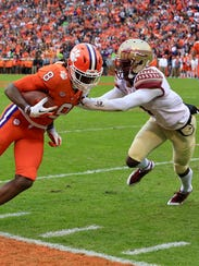 The Florida State Seminoles' defense allowed the Clemson