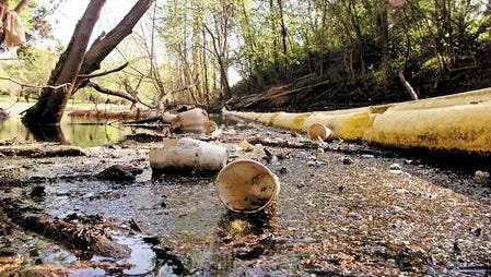 The Bayou Vermilion District last year removed 1,400 55-gallon barrels of trash from the Vermilion River. This year, the district is focusing on eliminating plastic bag waste.
