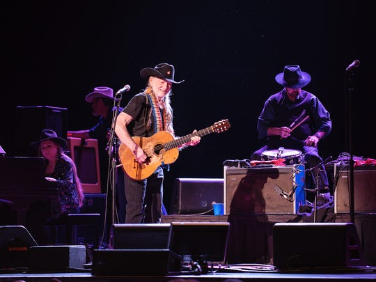Willie Nelson & Family performed a sold out show Saturday at The Show.