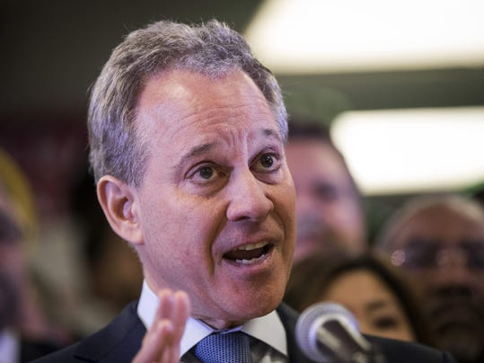 FILE - NY AG Eric Schneiderman Resigns After Physical Abuse Claims NY Attorney General Schneiderman Files Suit Against Trump Administration Over Census