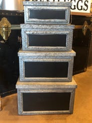 Storage bins can be used for just that, storage, or