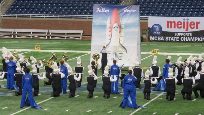 The band paid tribute to astronauts who perished in the Space Shuttle Challenger explosion.