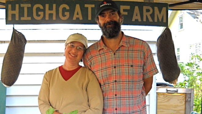 The root vegetables (and smiles) from Melissa Harwin and John Kunkle of Highgate Farm are a big hit at the Tailgate Market.