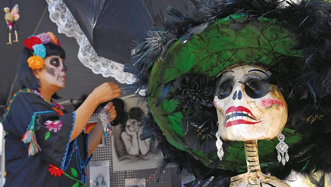 Preparations get underway for Día de los Muertos celebrations in Mesilla. This year's events will include entertainment, altar building, arts and crafts and food vendors on the Mesilla Plaza Oct. 30 through Nov. 1, with a Nov. 2 procession at dusk.