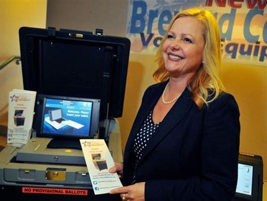 Lori Scott, Brevard County supervisor of elections.