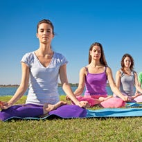 There will be yoga on the Waterfront noon Friday, April 29.