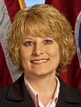 Lori Bullard, assistant commissioner of driver services, oversees 50 driver service centers statewide.