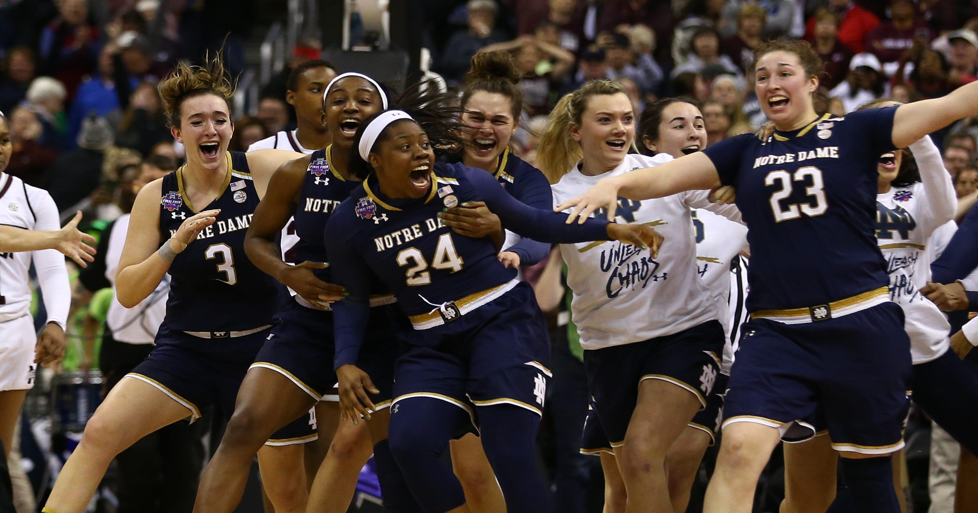 6396fc985f11 Notre Dame Womens Basketball Shirts