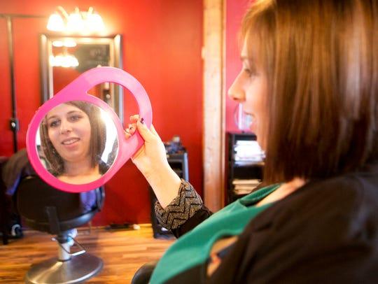 Journal Media reporter Sari Lesk looks at her haircut